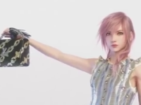 FFXIII's Lightning now modelling for Louis Vuitton