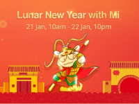 The Xiaomi Lunar New Year Sales are coming starting 10AM 21 January
