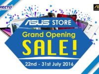 Get awesome 50% off deals at the Asus Concept store launch on 22 July