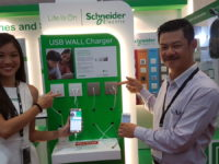 Schneider aims for a power play with new USB wall chargers