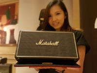 Relive the days of Woodstock with these Stockwell wireless speakers from Marshall