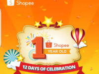 Shopee turns one with 12 days of crazy sales