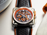 Bell & Ross' limited edition Aero GT Orange chronograph is a real stunner