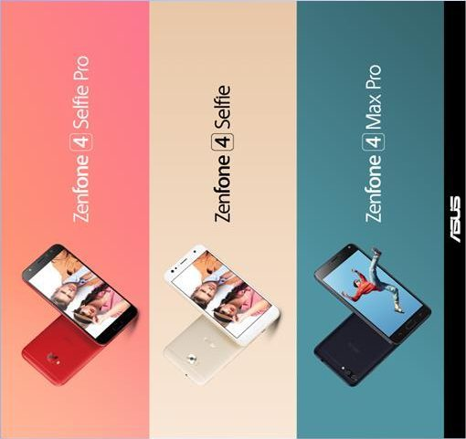 Zenfone 4 Selfie Pro, Zenfone 4 Selfie and Zenfone 4 Max preorders announced for Malaysia on Lazada and Shopee