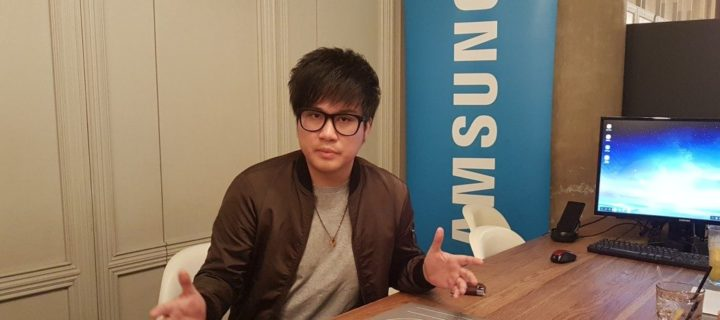 Entertainment maestro Jinnyboy shows how he gets down to business with the Galaxy Note8