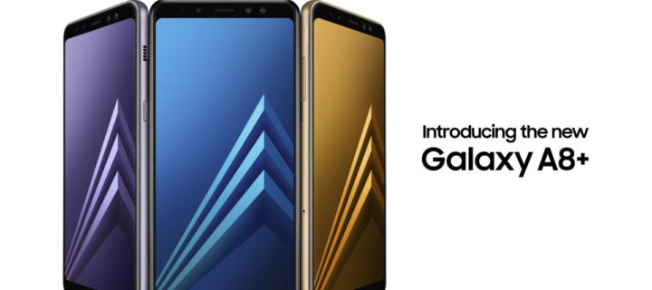 Samsung's selfie-centric Galaxy A8 and A8+ revealed