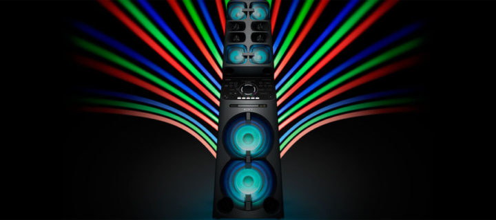 Sony brings the boom with their huge MHC-V90DW speaker