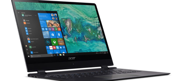Acer's ultraslim Swift 7 laptop redefines thin at CES 2018