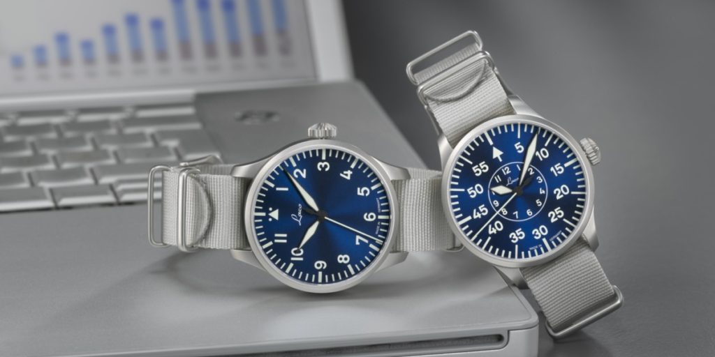 From left: The Laco Augsburg Blaue Stunde and the Aachen Blaue Stunde
