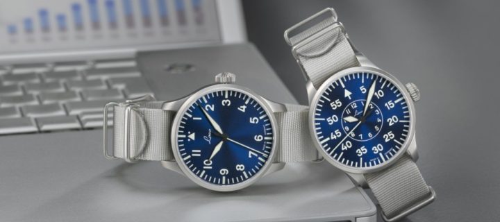 Fly the friendly blue skies with these Laco Blaue Stunde series watches