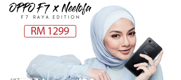 OPPO announces new phone prices and new F7 x Neelofa edition preorder