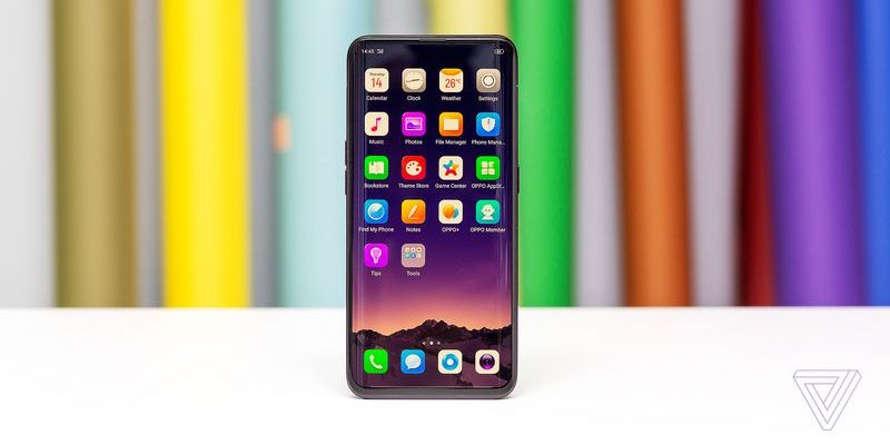 Oppo unveils Find X that nixes the notch with novel pop-up cameras
