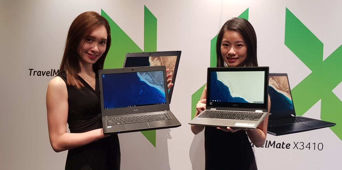 Acer rolls out latest array of Veriton, TravelMate and Chromebook devices
