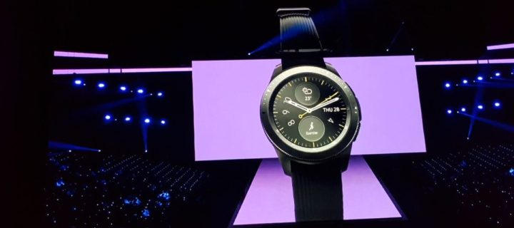 Samsung's super stylish Galaxy Watch revealed with amazing battery life & two sizes at Unpacked 2018