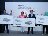 Samsung Senangnya Raya Race winners feted with over RM2,000,000 in prizes