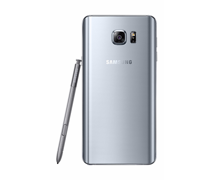 The Galaxy Note 5 rear