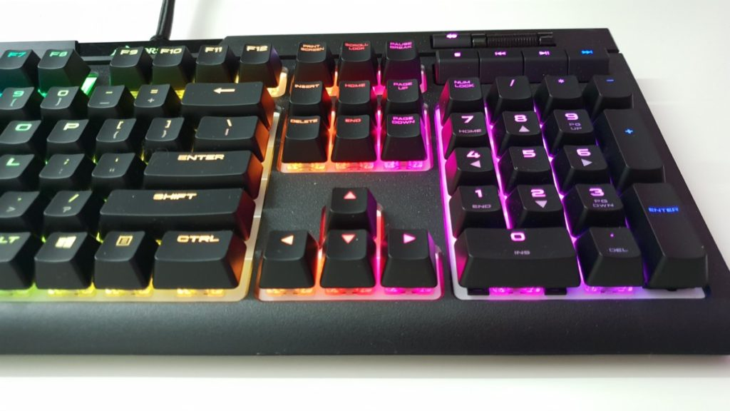 corsair strafe keyboard how to connect mouse