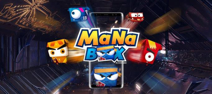 Check out how these kids react with Samsung's new downloadable ManaBox game