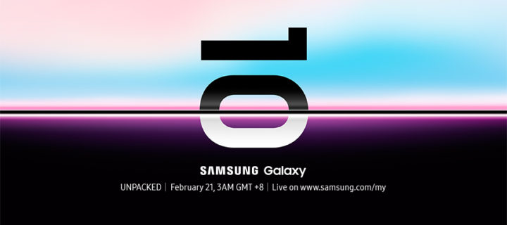 Tune in and see the next Galaxy phone at Galaxy Unpacked 2019