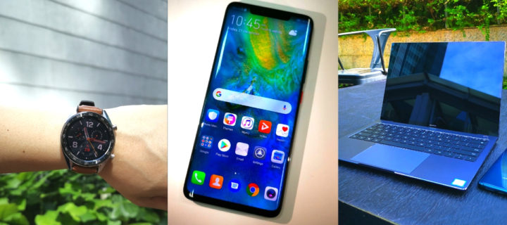 The Huawei Power Tech Trifecta – the Mate 20 Pro, MateBook X Pro and Watch GT