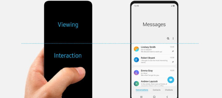 Samsung showcases the power of their new One UI user interface
