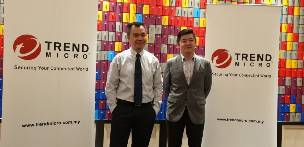 From left: Mr. Goh Chee Hoh, Managing Director of Trend Micro Malaysia & Mr Law Chee Wan, Technical Director Trend Micro Malaysia and Singapore