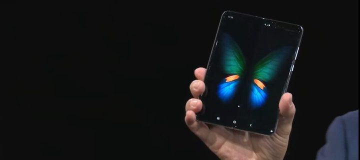 Samsung officially reveals the foldable Galaxy Fold