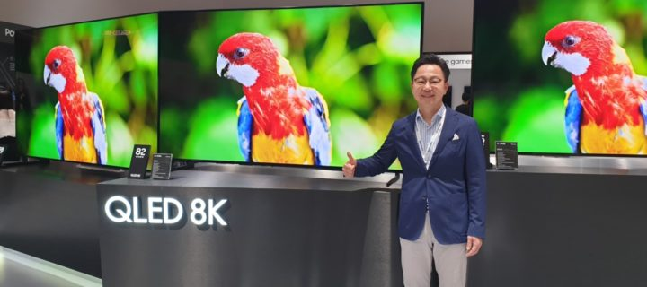 Samsung SEAO Forum 2019 showcases their latest 8K QLED TVs and home technologies