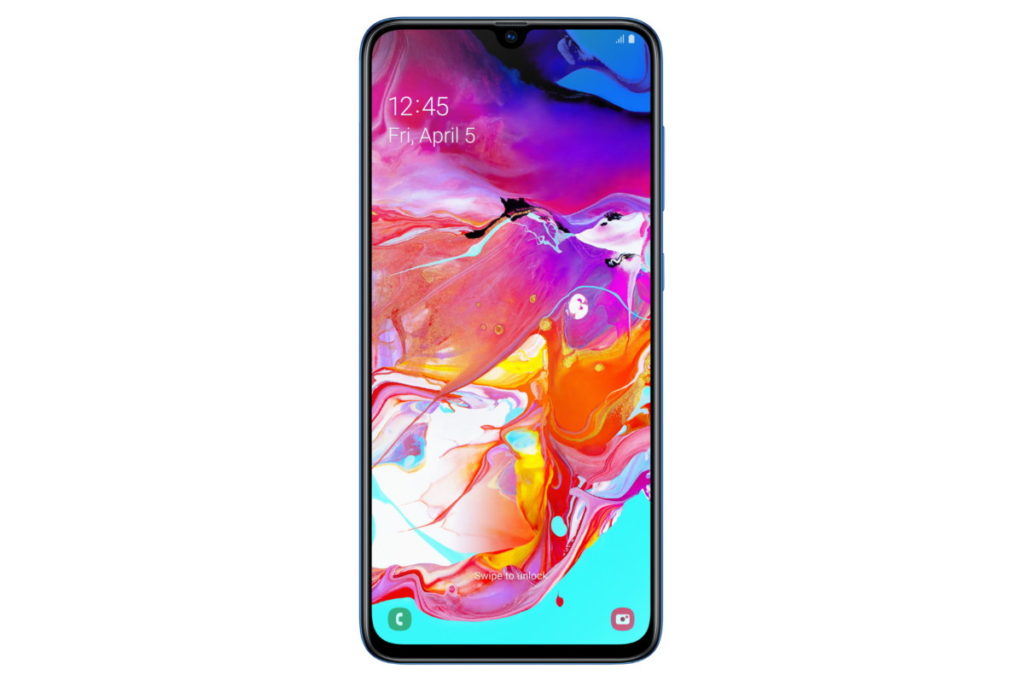 Galaxy A70 front panel