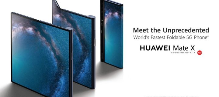 The Huawei Mate X is the foldable phone of the future
