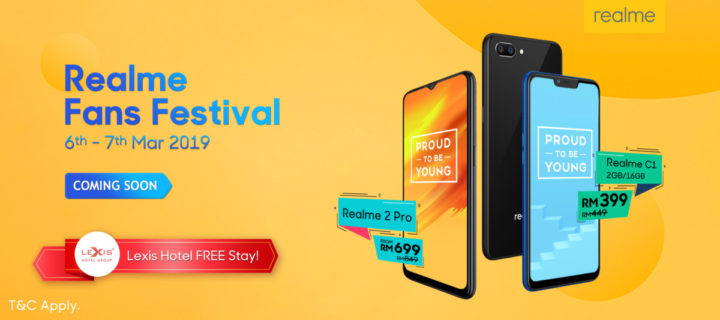 The Realme Fans Festival starts today, win giveaways and getaways galore
