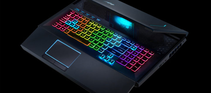 The new Acer Predator Helios 700 gaming notebook sports a sliding keyboard plus an updated Helios 300 appears