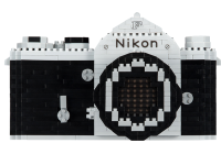 Nikon releases build-your-own vintage F SLR out of Nanoblocks