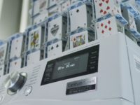 House of cards gets laid down on LG's rock steady new washing machine
