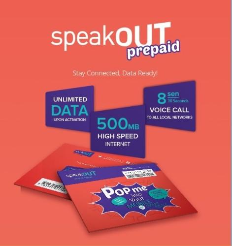 Speakout Prepaid SIM