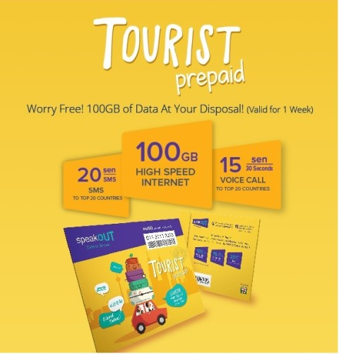 Tourist prepaid sim
