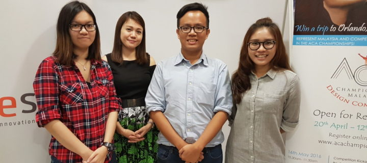 Malaysia's pioneer contestants for Adobe's gruelling ACA World Championships are ready to rock and roll