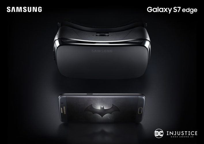 Samsung Galaxy S7 edge Injustice Edition_Gear VR
