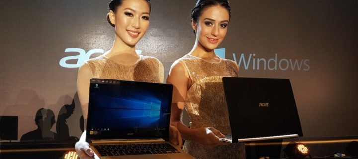 Acer launches Swift series of laptops and more