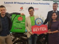 Get your groceries delivered within the hour via HappyFresh and Tesco Malaysia's new alliance