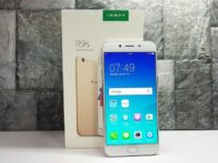 Unboxing the OPPO R9s