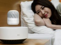 LG will be showcasing a levitating speaker at CES 2017