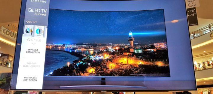 Review] Samsung QLED Q8C 4K HDR TV - Samsung's curvy 65-inch