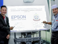 Epson sponsors Tunas Lagenda Football Club