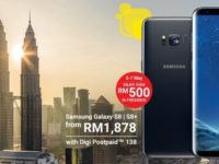 Digi offers Galaxy S8 and S8+ with RM527 worth of freebies