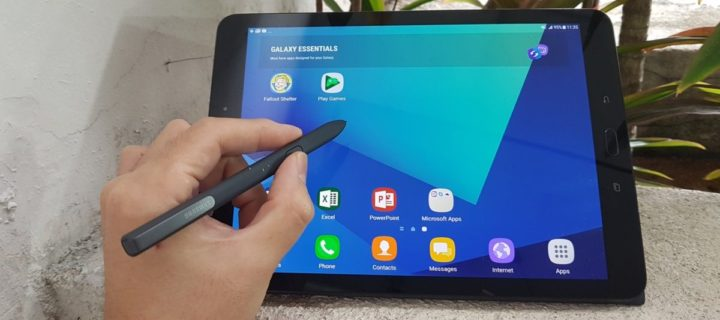 [Review] Samsung Galaxy Tab S3 – Put it on the Tab