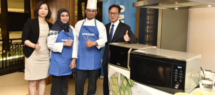Samsung's latest microwave oven has a setting to cook Malaysian rendang!