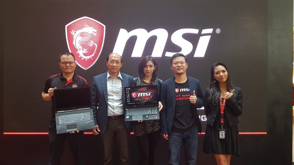 Msi ge series notebook launch