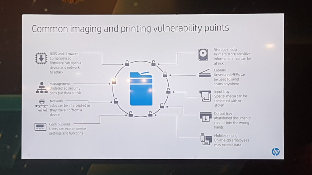 Common printer vulnerability point image