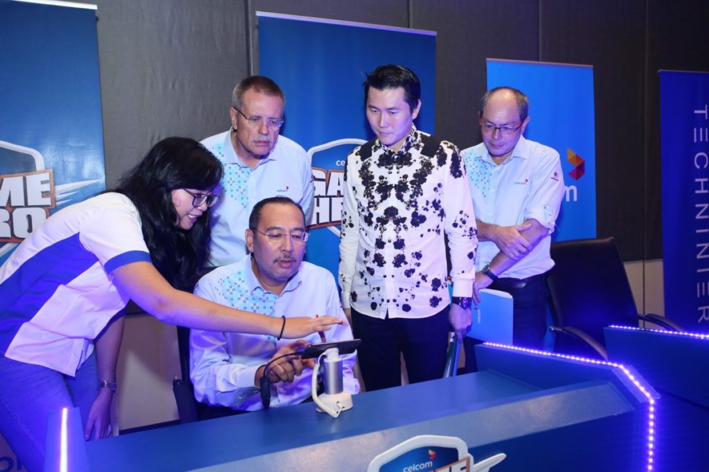 VIPS testing the latest Celcom Game Hero game